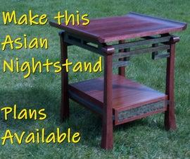 Make an Asian Nightstand