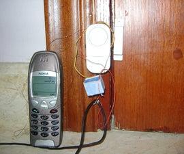 15 minutes SMS door entry alarm