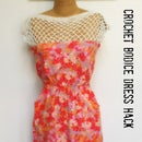 Dress Hack: Crochet Bodice