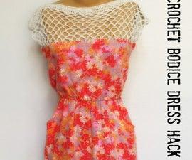 Dress Hack: Crochet Bodice