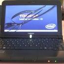 DIY Repair/Replace Broken Lcd Screen - Toshiba NB200