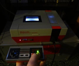 Adding led's to nes controller (lit when a & b buttons pressed).