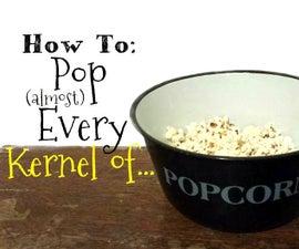 Making Perfect Stove-top Popcorn
