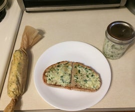 Garlic Chive Compound Butter