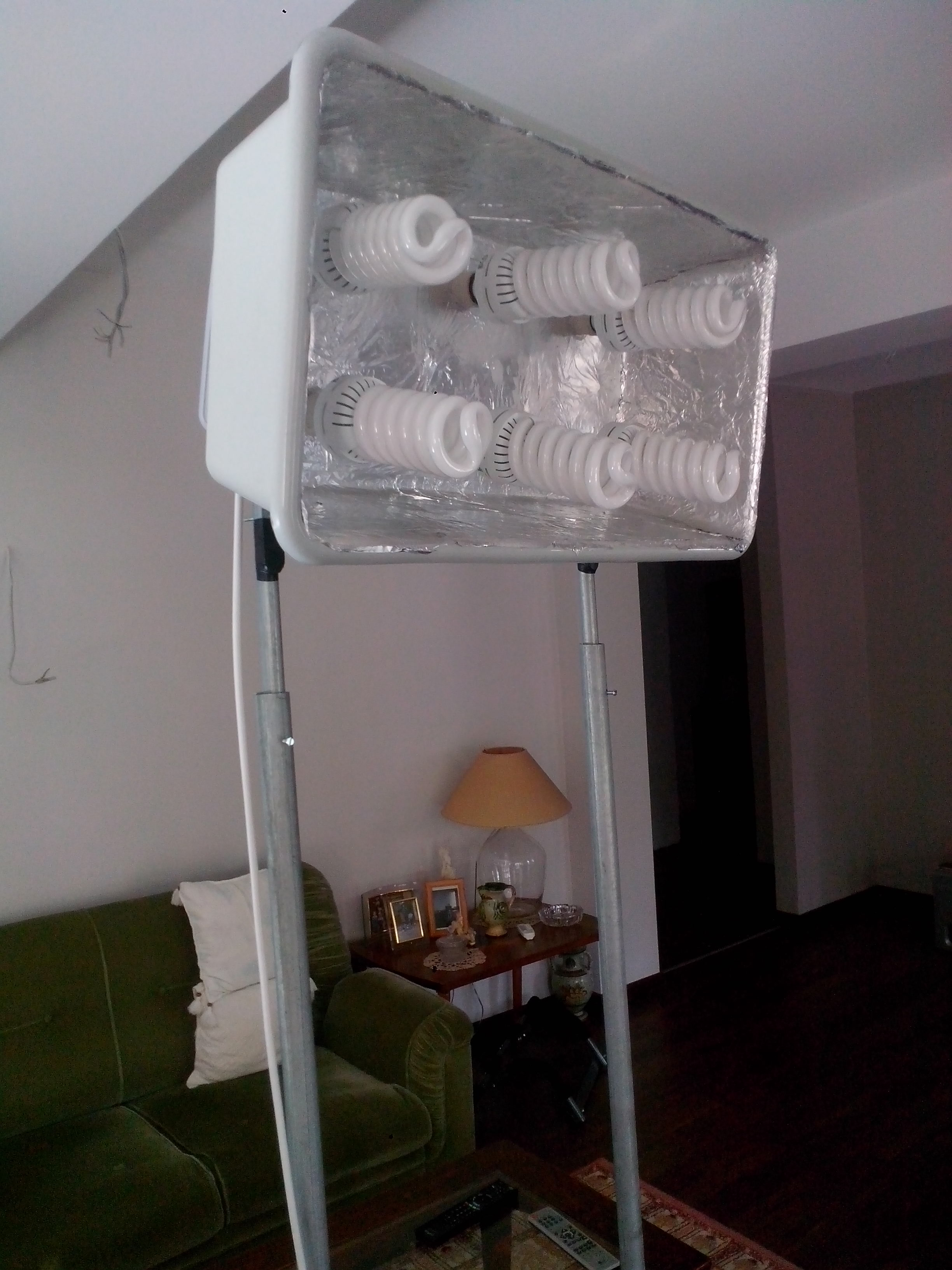 Picture of 3 Point Lighting Setup