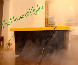 Make a humidifier for your home or greenhouse... that works!