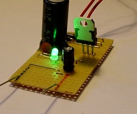 Make a simple 12 volt power supply