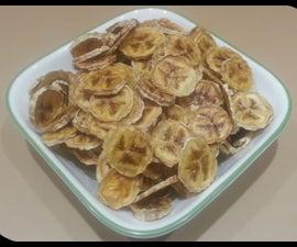 Easy Banana Chips