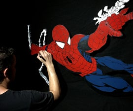 How to Make a Huge Spider-man MDF Cut Out