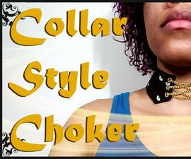 DIY Collar Style Choker