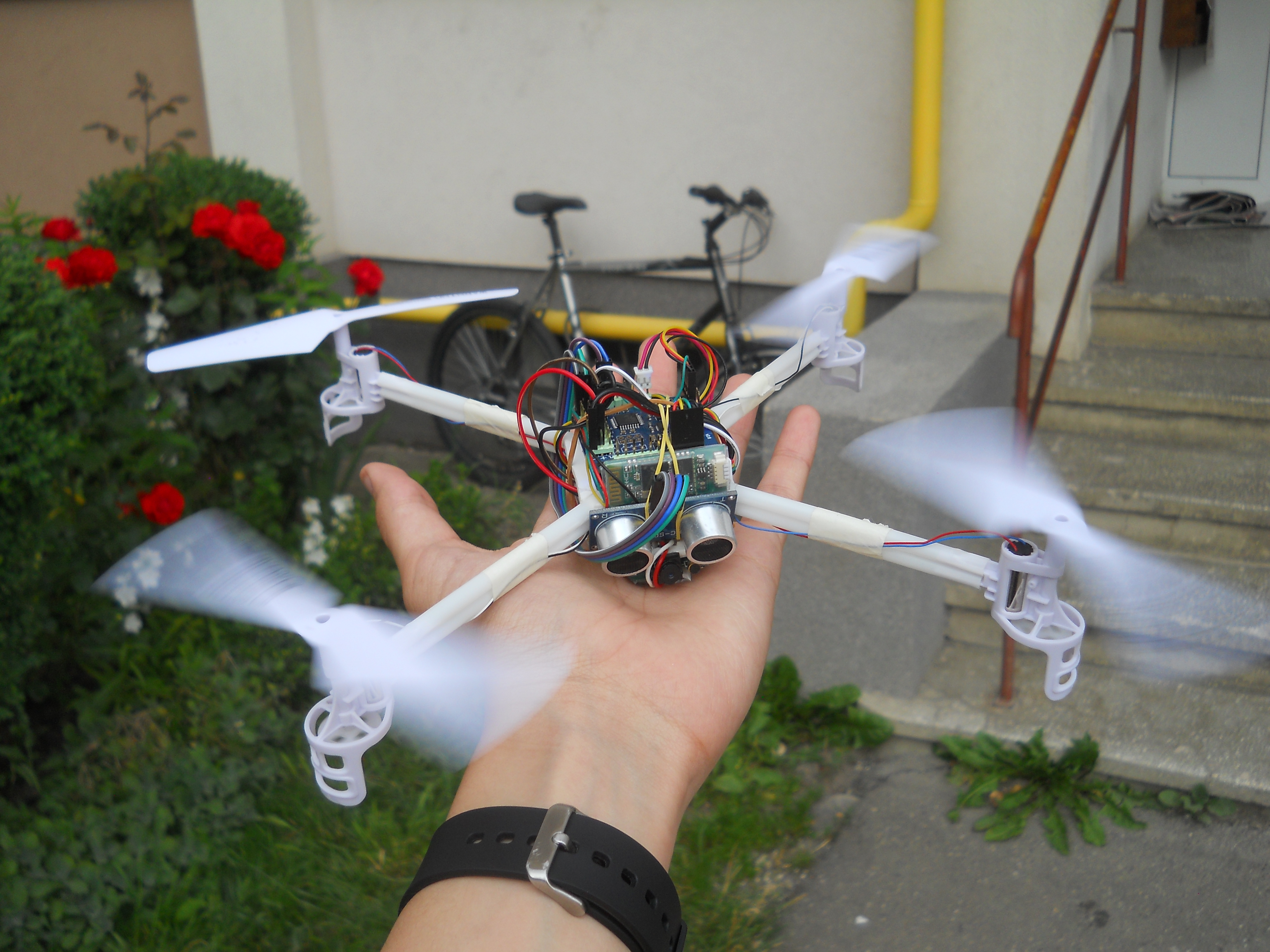 Picture of DIY Smart Follow Me Drone With Camera (Arduino Based)