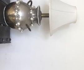 DIY Decorate an Average Lamp