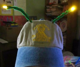 LED'tennae: LED Antennae for You Cap
