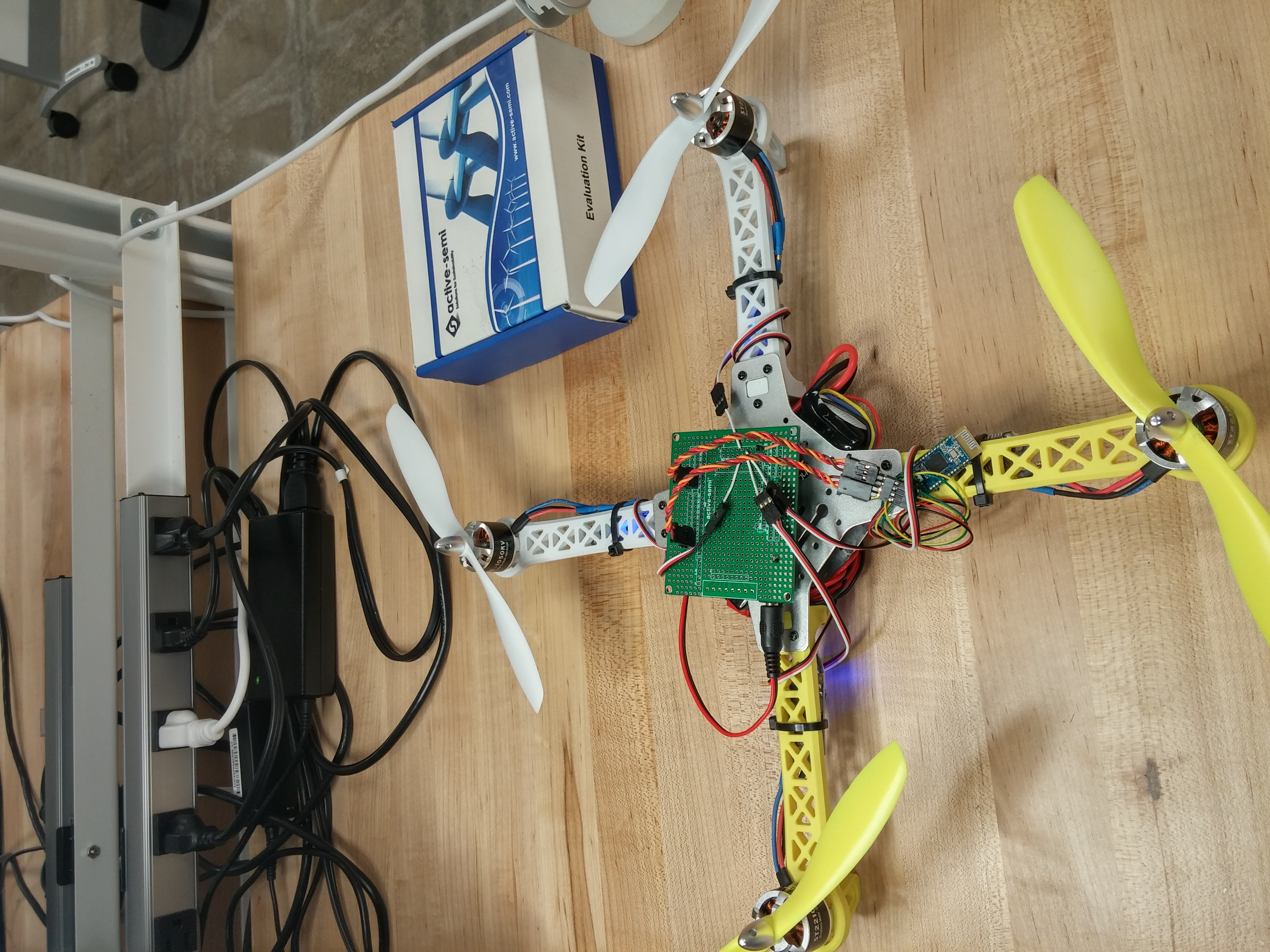 Picture of #ActiveSemi -- Hydra-X Build Competition: Quadcopter