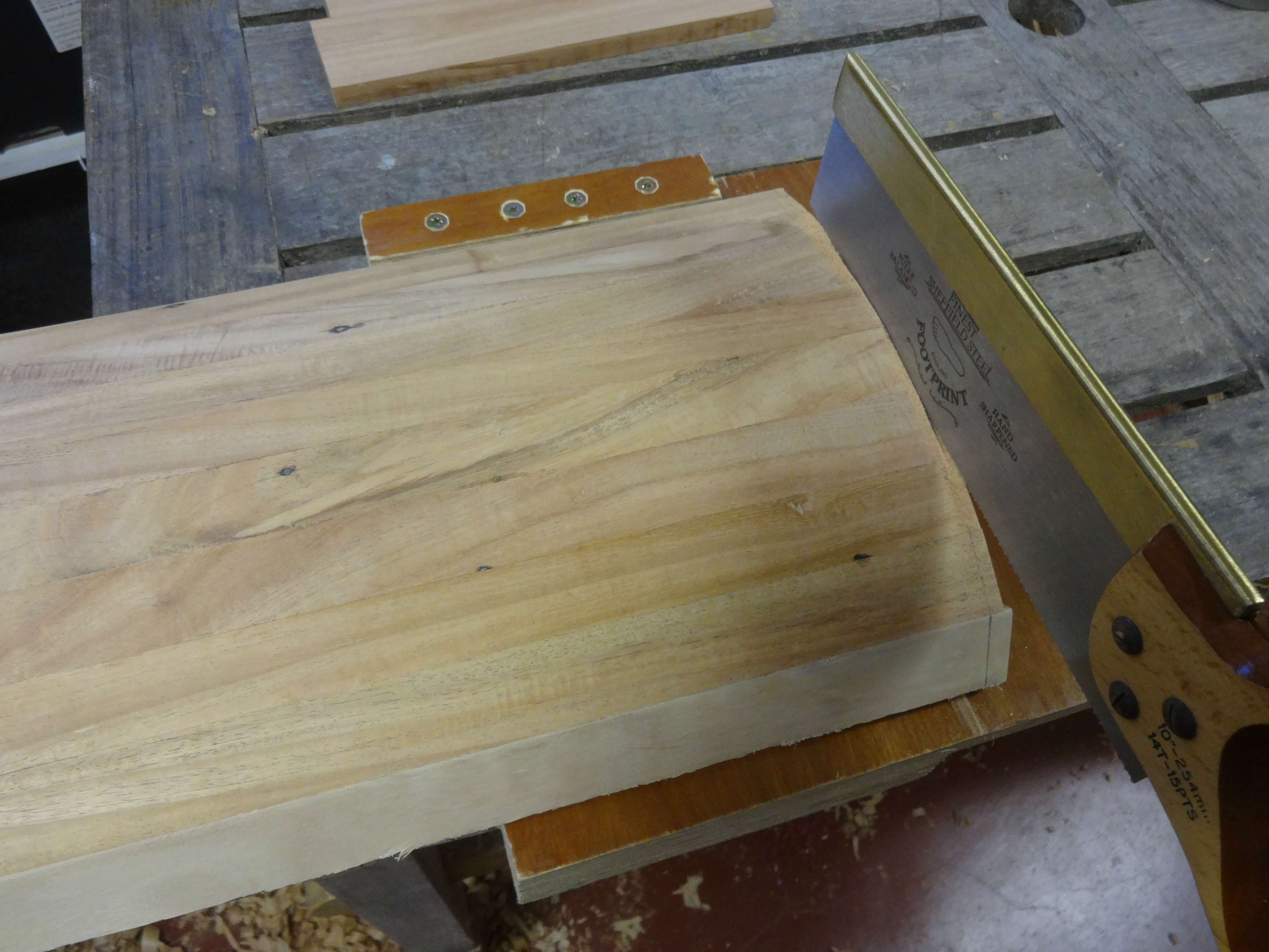 Picture of Cutting the Lid to Size and Adding Vertical Strips