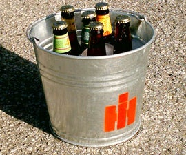 Customized Summer Beer Bucket
