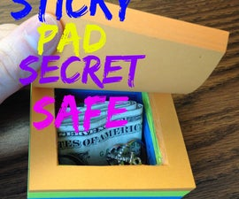 Turn a Pad of Post-it Notes Into a Secret Safe (VIDEO)