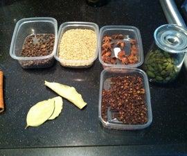 How to make a nice spiced tea (chai)