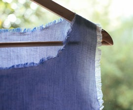 Frayed Hem Top DIY