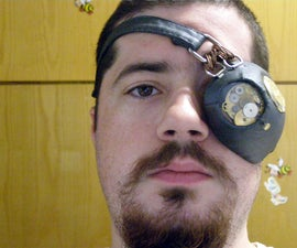 Steampunk mechanical monocle