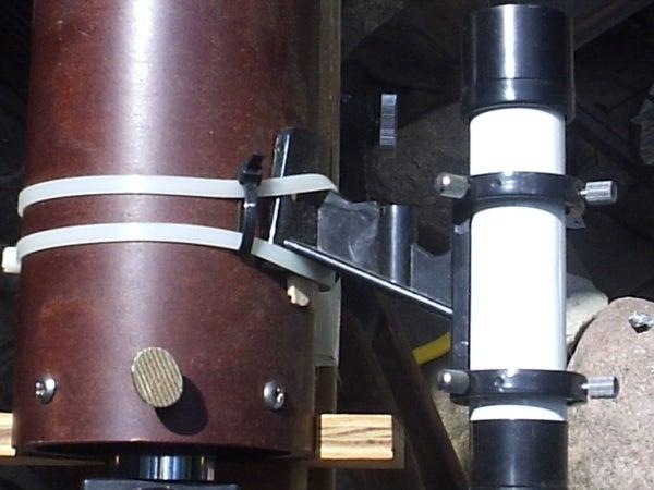 Finderscope Mount With Zip Ties