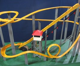 Motorized Marble Roller Coaster