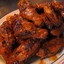 BBQ'd Hot Wings!