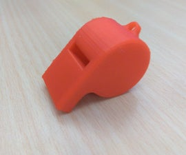 3D Printing Whistle
