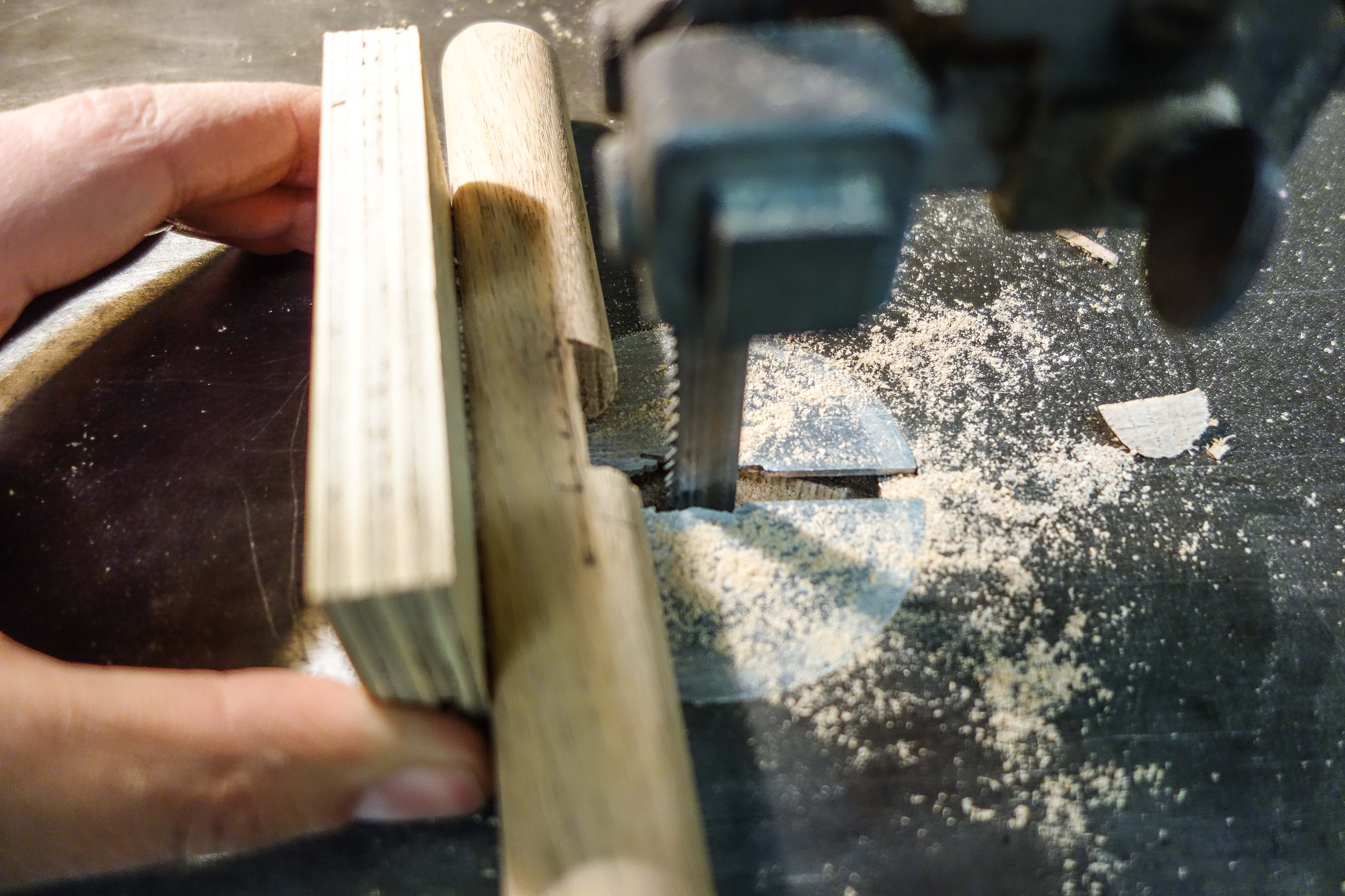 Picture of Making the Handle/footrest
