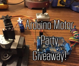 Arduino Motor Party