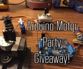 Arduino Motor Party