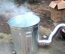 How to Make a Trashcan Smoker