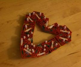 Knex Valentines Heart