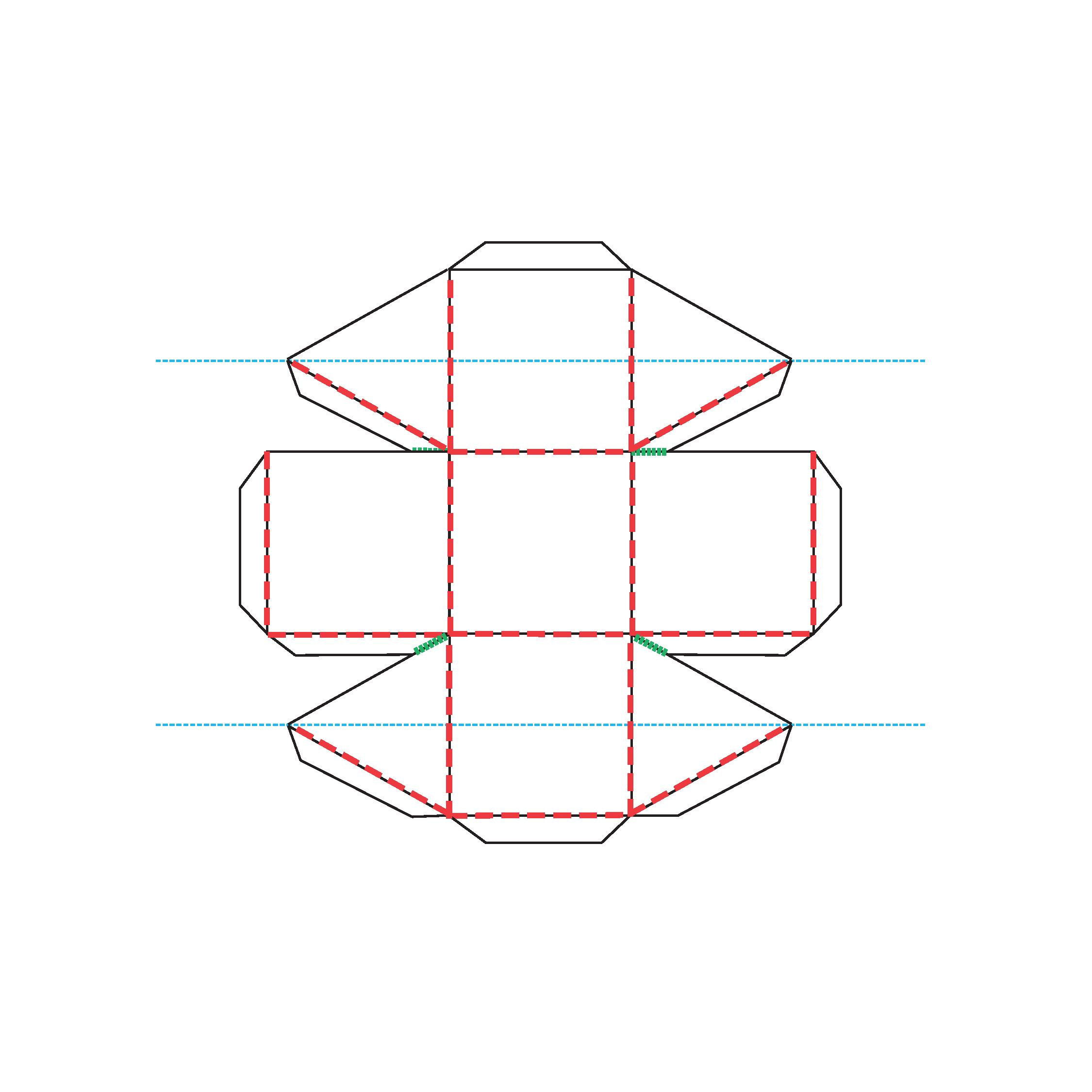 Picture of Polygonal Skeleton: Templates 1, 2, 3