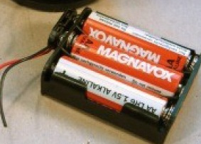 Picture of High Torque Moter and Battery