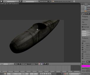 Modelling in blender: airplane part 1