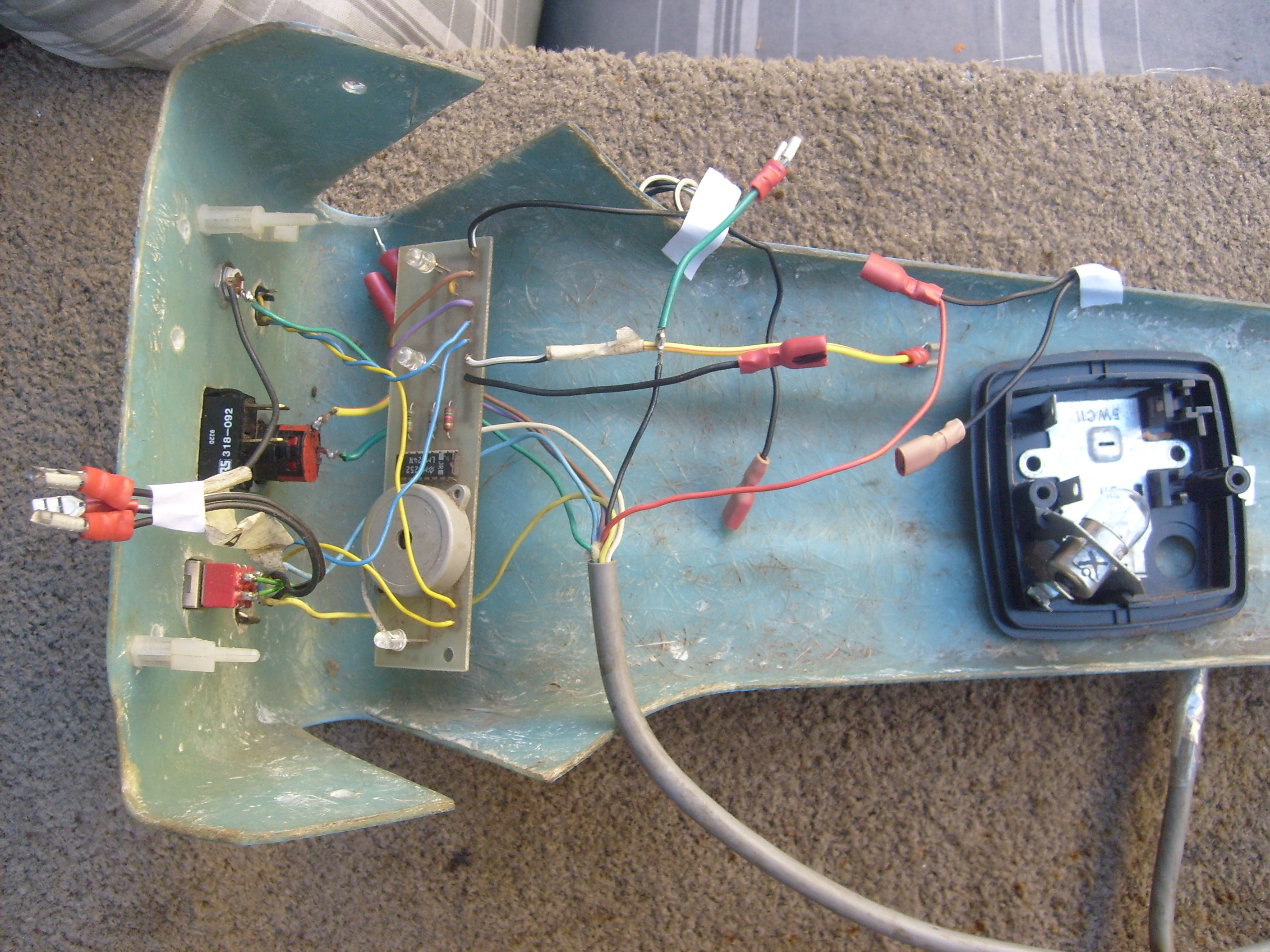 Picture of where can i get a diagram to rewire a 24volt mobility scooter just to mobalise it , can i by pass the circuit board  ?