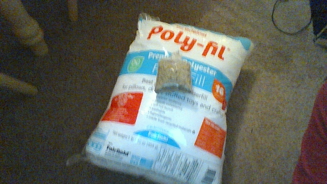 Picture of Stuff With Poly-Fil and Catnip.