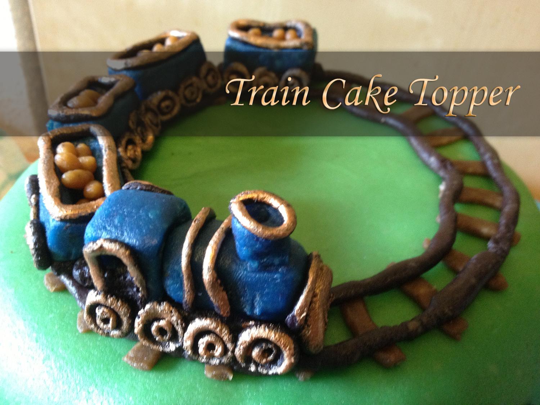 Picture of Train Cake Topper