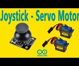 Arduino - Multiple Servo Control With Joystick