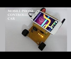Mobile Controlled Car