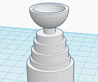 Raise the Cup - 3D Print
