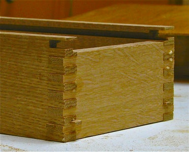 Finger Jointed Box