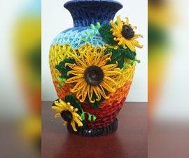 Paper Quilled Vase