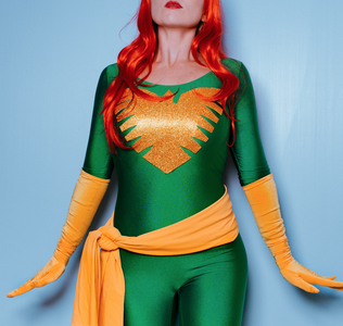 How to Make a No-Sew Phoenix Costume
