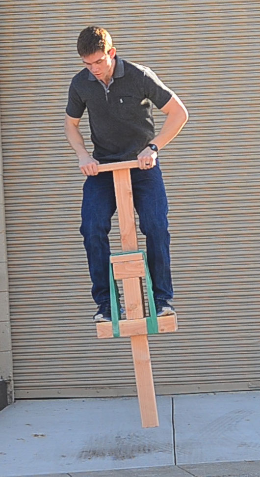 Picture of Pogo Stick From 2x4s