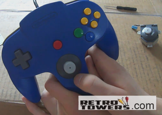 How to Replace a Faulty or Broken N64 Thumbstick With a Gamecube Styled Thumbstick