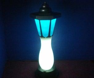 Multi-Color LED Lamp Utilizing an 8 Channel LED Controller V.3