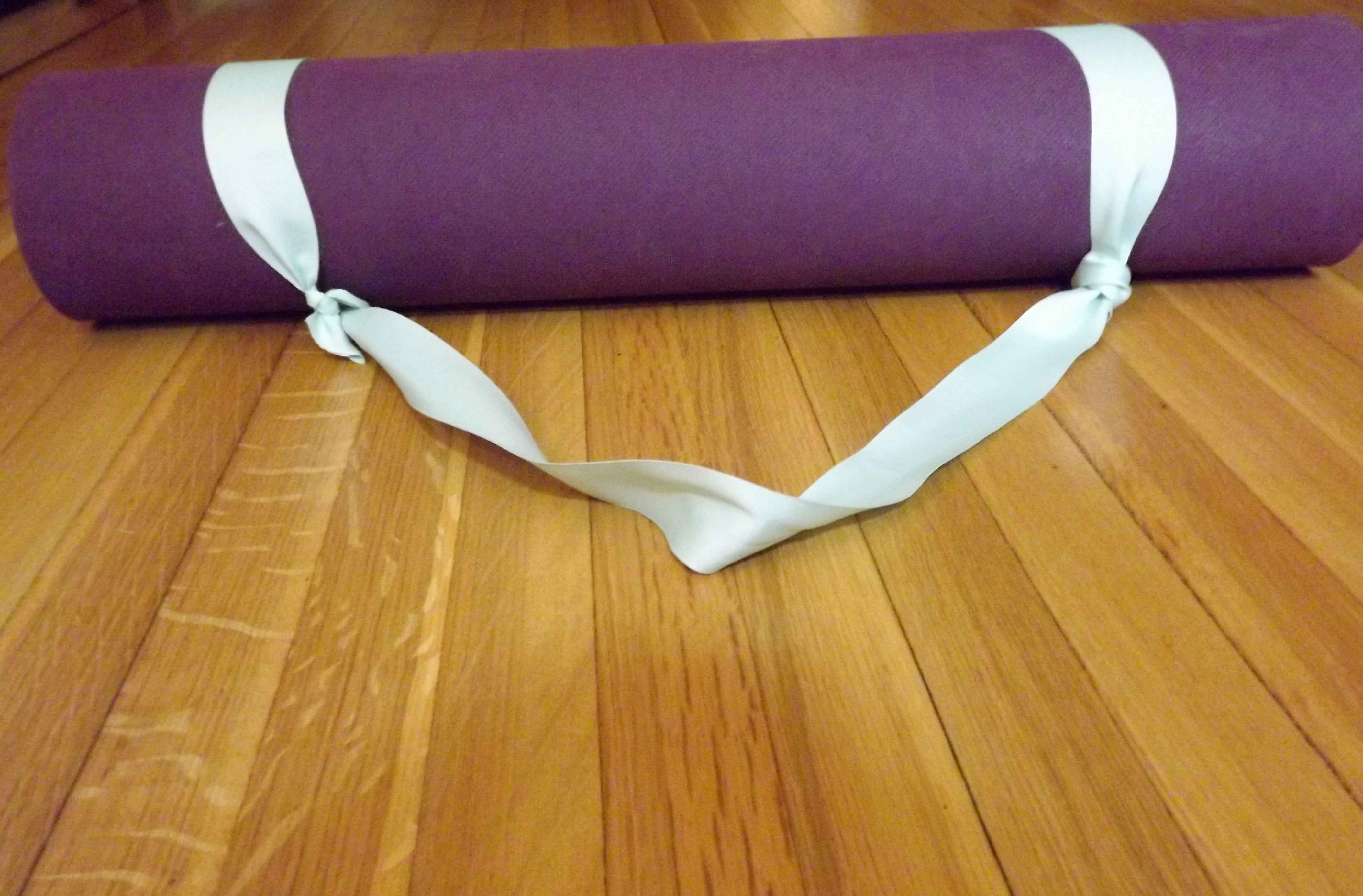 Yoga Mat Sling Strap 4 Steps With Pictures Instructables