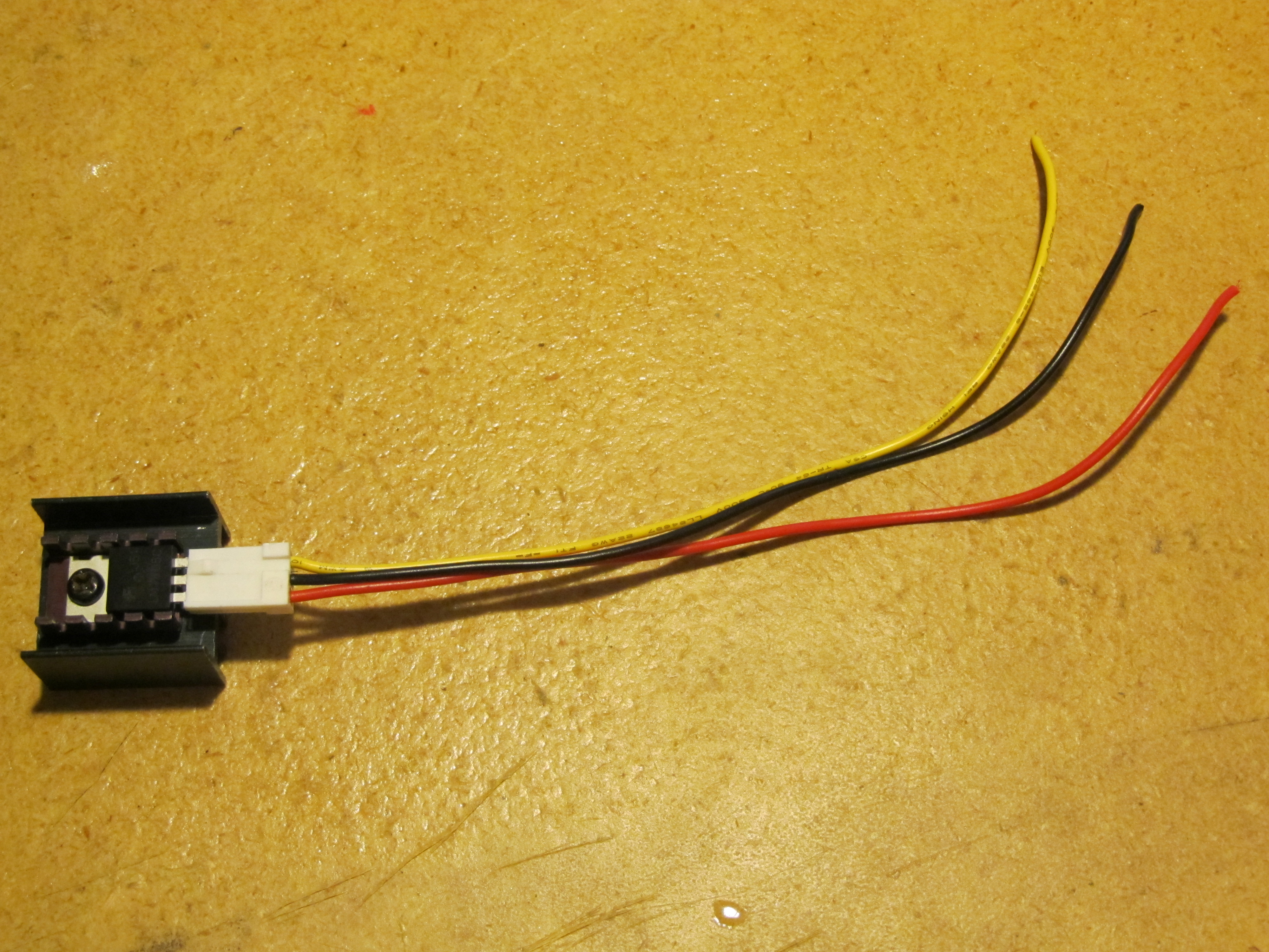 Picture of Simple Transistor Socket or Other Pin Type Electronic Part
